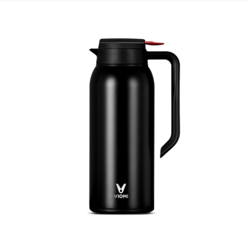 картинка Термос Xiaomi Biomi Steel Vacuum Pot Black 1500ml от магазина Mi-Smart